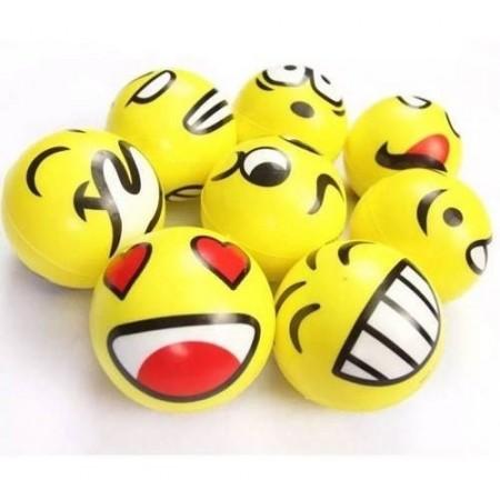 Set 8 Pelotas Emociones Emojis