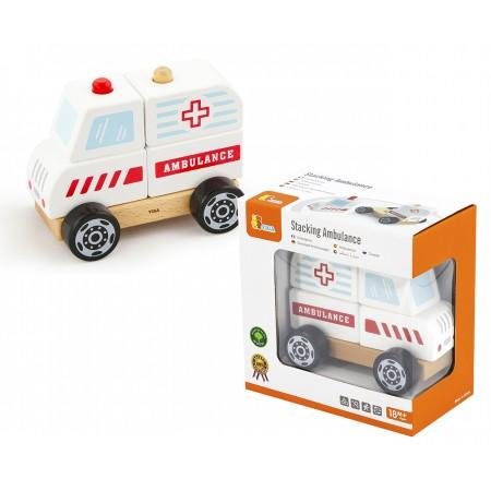 Auto Ambulancia Madera para...