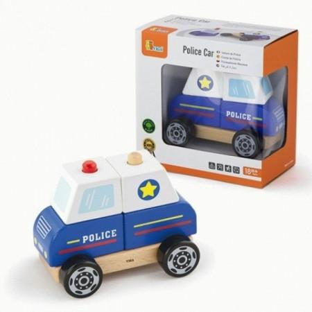 Auto Policía Madera para...