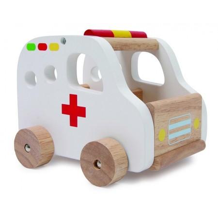 Auto de Madera Ambulancia...