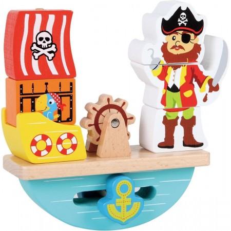 Barco y pirata de Madera...