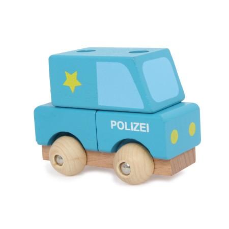Auto Policia para Armar de...