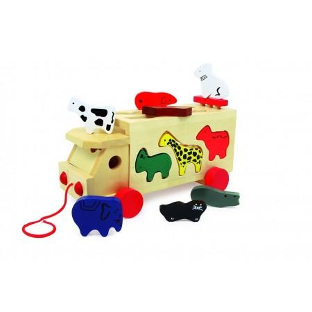 Camión Animales del Zoo...