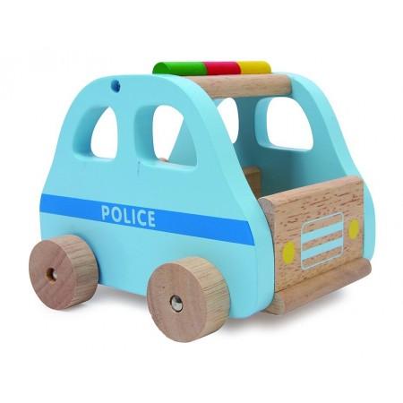 Auto de Madera Policia,...